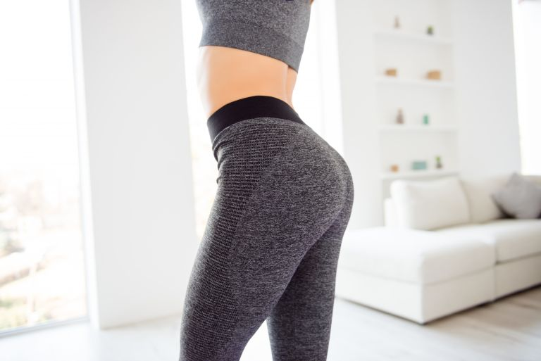 Exercises for perfect thighs and buttocks