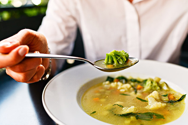 Soup: The secret to easy slimming
