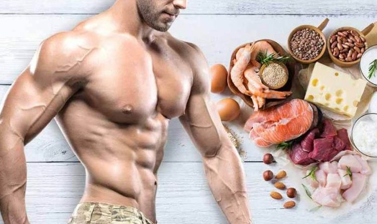 Build muscle with the right nutrition
