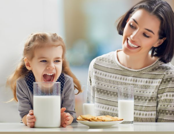 How important is milk for children